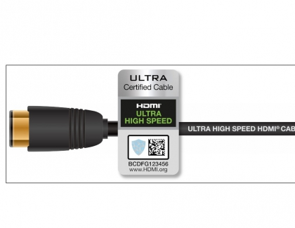 New Ultra High Speed HDMI Cable Certification Program Assures Support For All HDMI 2.1 Features Including 8K