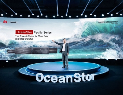 Huawei Announces the New OceanStor Pacific Series for Mass Data Storage