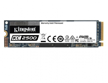 Kingston Releases New KC2500 NVMe PCIe SSD for High Performance Systems