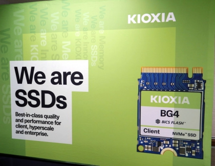 Kioxia's New SSD and Memory Cards Coming in April
