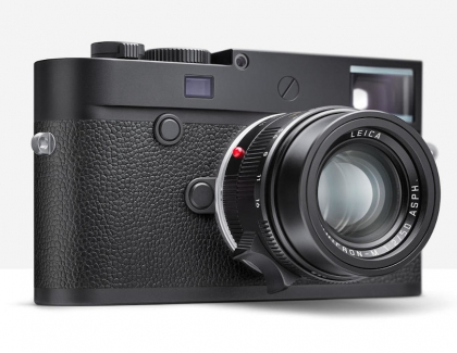 Leica Releases the M10 Monochrom Camera