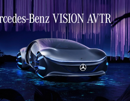 Mercedes-Benz and AVATAR films Develop a Vision for the Future of Mobility: the VISION AVTR