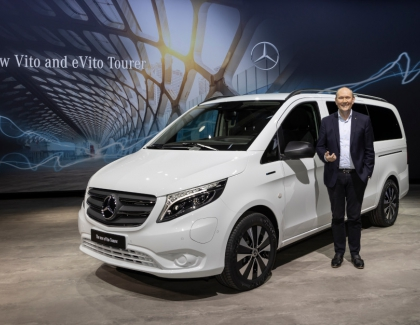 Mercedes-Benz Unveils The New eVito Tourer Van