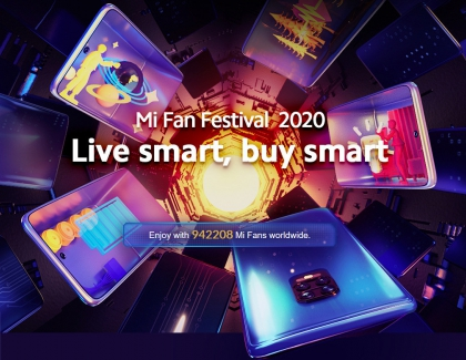 Xiaomi Mi Fan Festival 2020 Kicks Off With Many Deals