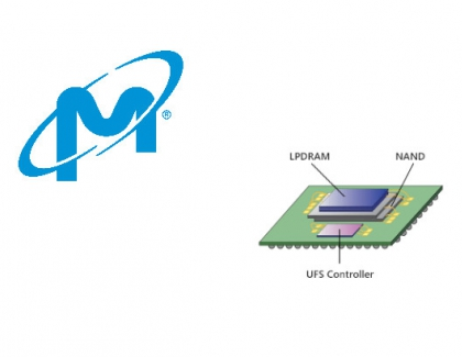 Micron Samples uMCP Product With LPDDR5 to Increase Performance and Battery Life in 5G Smartphones