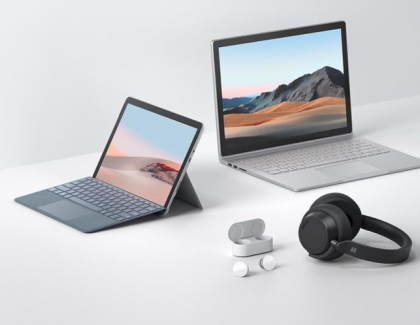 Microsoft Introduces Surface Go 2, Surface Book 3, Surface Headphones 2 and Surface Earbuds