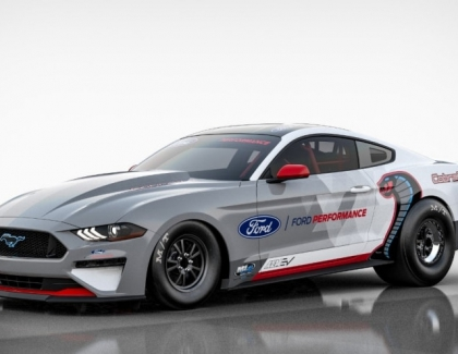 Ford Introduces All-Electric Mustang Cobra Jet 1400 Dragster Prototype