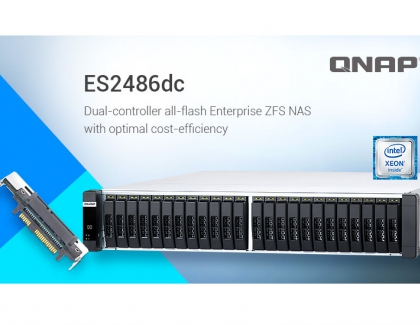 QNAP Rolls Out All-Flash Array Enterprise ZFS NAS