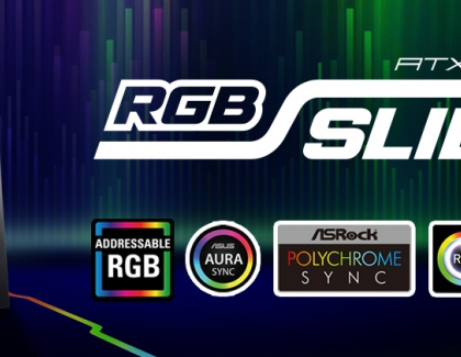 Sharkoon RGB Slider | Compact ATX case with extensive installation options