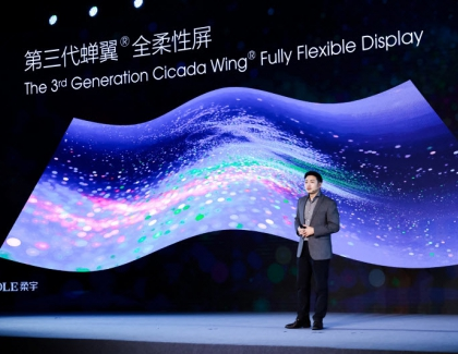 Royole Introduces  The 3rd Generation Cicada Wing Fully Flexible Display, Foldable Smartphone Partner, and the FlexPai 2