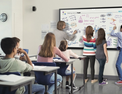 New Samsung 85-inch Interactive Display Designed To Accelerate Transformative Learning and Collaboration