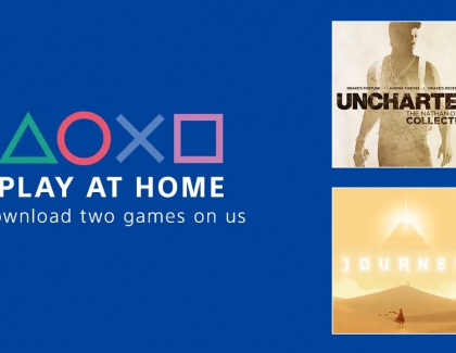 Sony to Offer Free PS4 Games Through the Play At Home Initiative