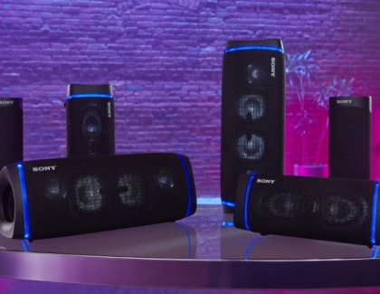 Sony Launches New Portable Extra Bass Speakers
