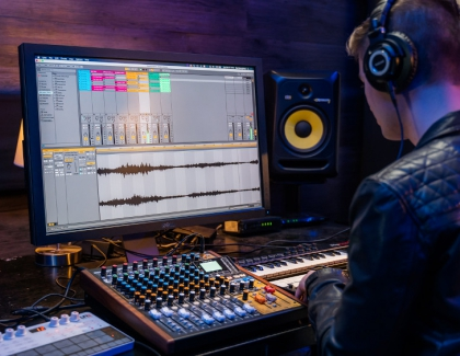 TASCAM's New Model 12 Integrated Production Suite Covers Audio and Multimedia Creators, Desktop Production, Live Performance and More