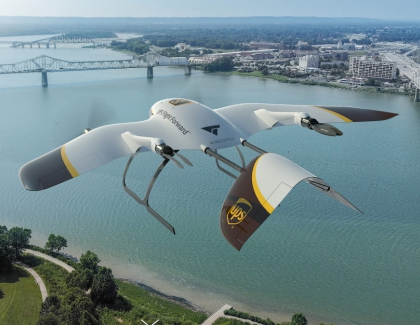 UPS and Wingcopter to Develop New Drone Fleet