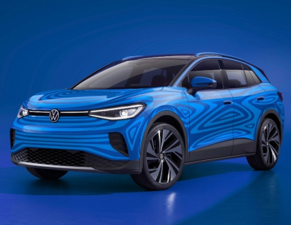 Volkswagen Previews The New All-electric Compact SUV ID.4