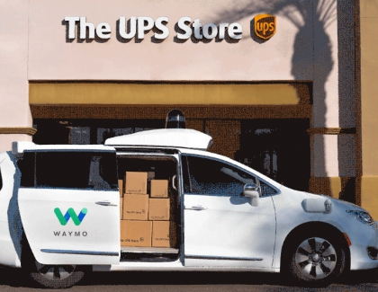 UPS Teams with Arrival and Waymo in Electric, Self-driving Vehicles