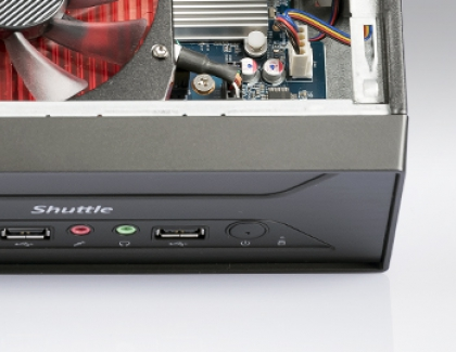Shuttle Announces XH410G mini bareboe PC