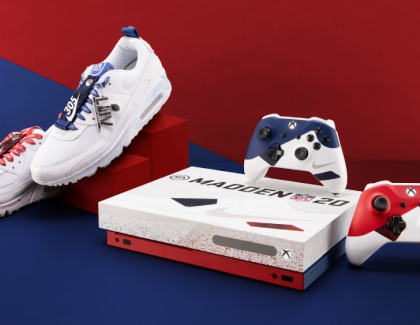 Xbox, Nike, and EA Sports Team Up on Custom Xbox One Inspired by Air Max 90s