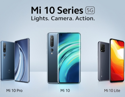 Xiaomi Announces the Global Launch of its Mi 10 Series: Mi 10, Mi 10 Pro and Mi 10 Lite 5G
