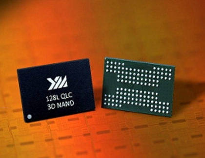 Chinese YMTC Introduces 128-Layer 1.33Tb QLC 3D NAND