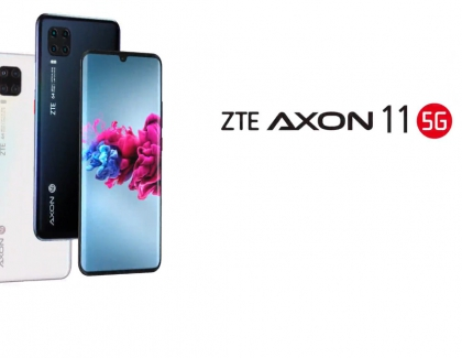 ZTE Axon 11 5G Smartphone Launches in China