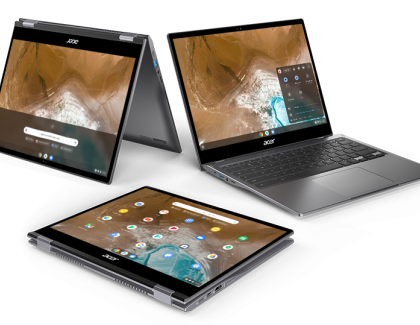 Acer announces two new convertible Chromebooks