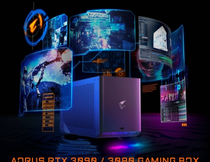 Gigabyte Updates it Gaming Box with Launches AORUS RTX 3090/3080