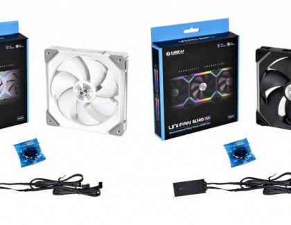 ​LIAN LI Expands Line-Up with UNI FAN SL140 and STRIMER PLUS TRIPLE 8 Pin for GPU
