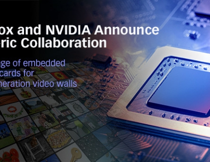 Matrox to Develop Embedded Graphics Cards with NVIDIA