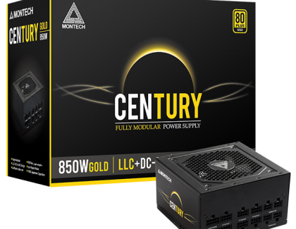 Montech releases new Century Line of 80Plus Gold PSUs