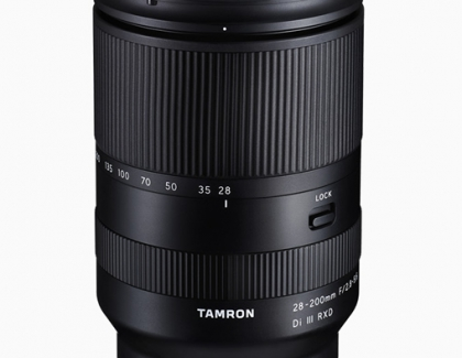 Tamron announces 28-200mm f/2.8-5.6 Di III RXD Lens for Sony Ε-Mount