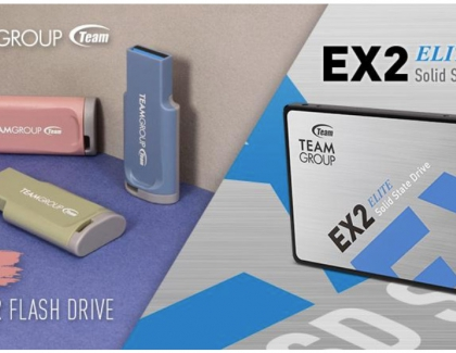 TEAMGROUP Releases EX Series SSD and C201 Impression USB Flash Drive