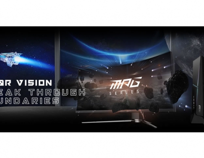 The MSI ARTYMIS Series monitors feature a 1000R curved panel to deliver unmatched immersion