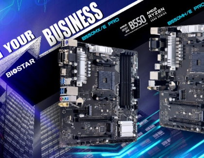 BIOSTAR ANNOUNCES THE LATEST B550MX/E PRO and B550MH/E PRO MOTHERBOARDS