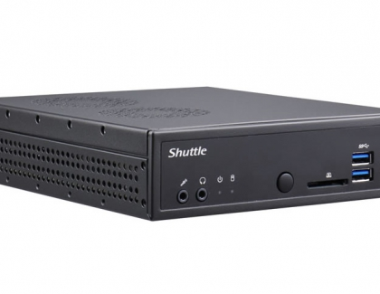 Shuttle goes AMD: Space-saving Barebone for Ryzen processors