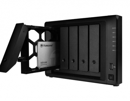 """Transcend Releases 2.5"""" NAS SSD Drive SSD250N"""