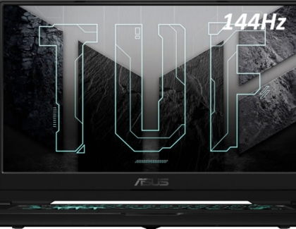 ASUS Releases TUF Dash F15 Gaming Notebook