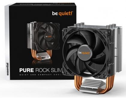 be quiet! releases Pure Rock Slim 2 CPU Cooler and MC1 Series M.2 SSD Heatsinks