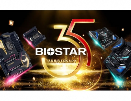 BIOSTAR CELEBRATES THE 35TH ANNIVERSARY WITH BRAND NEW VALKYRIE SERIES MOTHERBOARDS