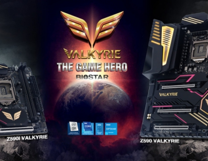 BIOSTAR UNVEILS THE ALL NEW Z590 VALKYRIE MOTHERBOARDS