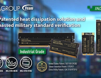 TEAMGROUP Releases Innovative Technology Solutions for Industrial Control to Meet Demands of High-Speed Computing