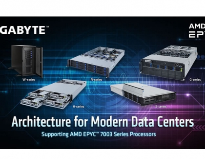 GIGABYTE Releases 2nd Wave of Servers for AMD EPYC™ 7003 Series Processors