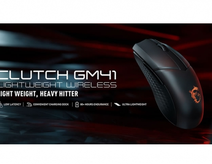MSI launches its first lightweight wireless gaming mouse designed for FPS gamers