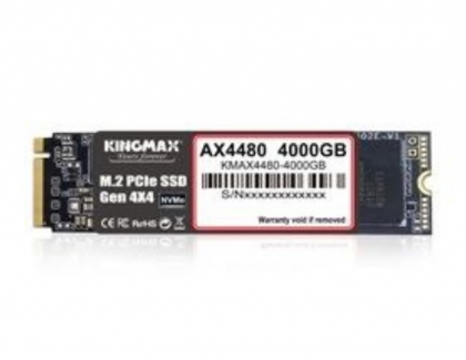 KINGMAX Releases AX4480 M/2 PCIE 4.0 SSD up-to 4TB