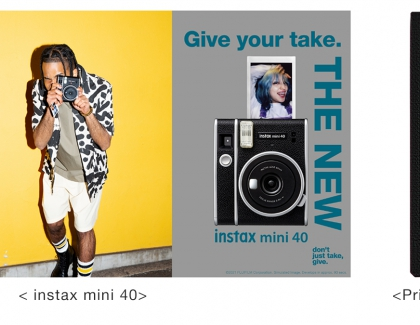 "Fujifilm launches instant camera ""instax mini 40"""