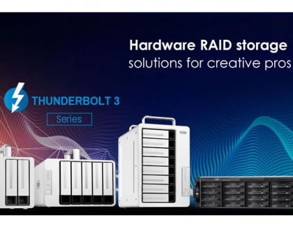 Terramaster Introduces Upgraded Hardware Hardware RAID Performance FOR ALL THUNDERBOLT 3 SERIES