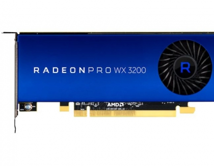 AMD Radeon Pro WX 3200 Professional Graphics Card Costs Less Than $200