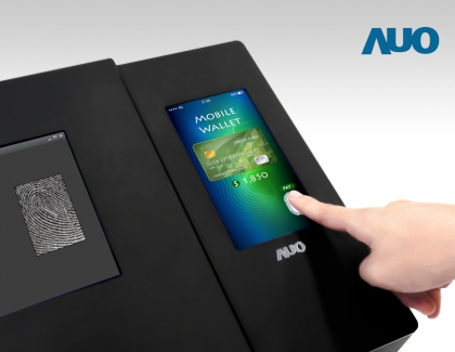SID: AUO Unveils Full Screen Optical In-cell Fingerprint LTPS LCD