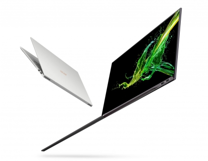 CES: Acer Debuts New Swift 7 with Compact Design and 92 percent Screen-to-body Ratio